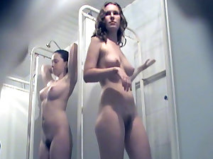 National shower with precious voyeur moments