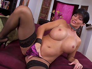 MILF Shay Coax is game with her fur pie
