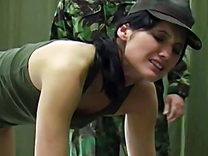 Forces lassie acquires a fine wazoo thrashing from her upwards