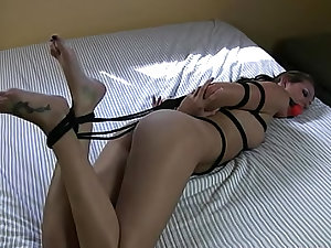 Hailey Juvenile S&m movie with cable servitude