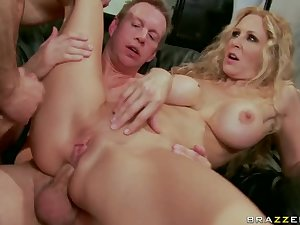 Julia Ann in uncommon DP