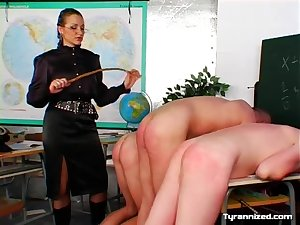 Instructor in tunic abuses her students