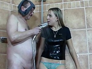Patricia engulf a huge late jock of Tim