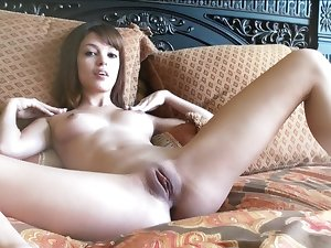 Juvenile girl Ashley Doll is shoving her puss