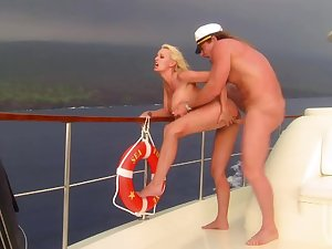 Stormy Daniels sex on a ship