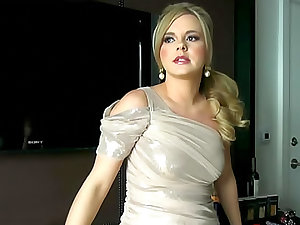 Bree Olson in a hot evening gown