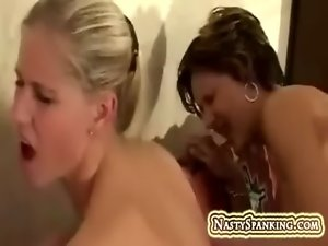 Pussy eating and thrashing delicious ladies