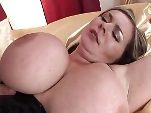 Huge-Boobs-Milf bizarre team-fucked