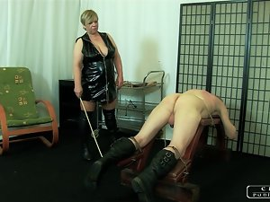 The Sadist Granny VI - meet slapping, caning, whipping