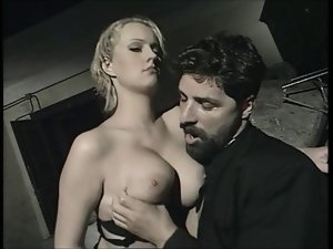 Nasty italian priest & a 18yo desirable blond