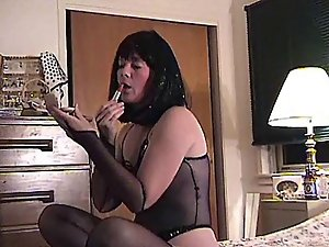 HOMEMADE Non-professional Nylons Actresses