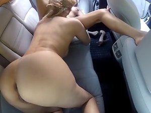 Mature and Saucy boy Masculine Sex Automobile Backseat