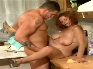 mature lalin girl olga is banging a younger stud
