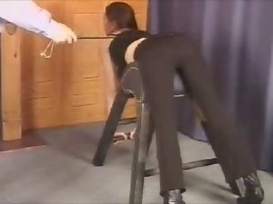 Ugly Lady Living Drubbing (Caning)