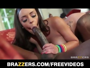 Beauteous French coach Liza Del Sierra receives a important dark rod