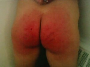 Severe thrashing torture for thrall jess