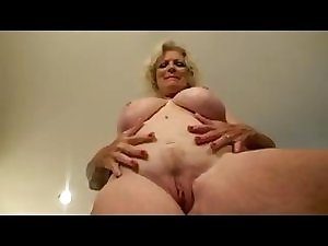 Bawdy Granny Masturbating by TROC