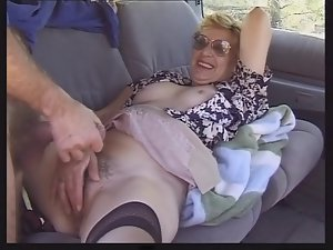 Granny in Vehicle