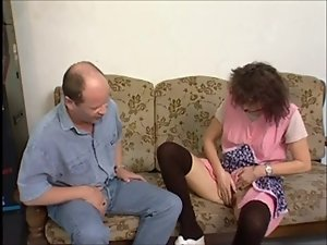 Delightful Granny Acquires A Fuck And Facial !