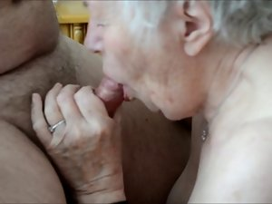 Older granny detect joy in sex