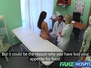 FakeHospital Physicians weenie and nurses tongue cure disappointed