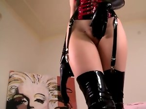 Latex Paramour with Anus Toy