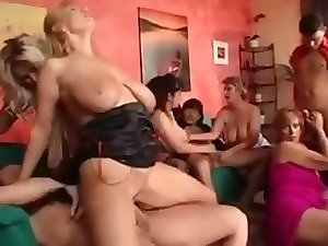 German housewives fuckfest