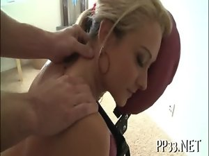 Delighting doll with massage