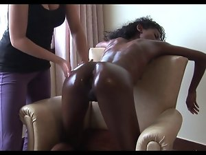 erotic massage for oiled up lad immodest ebon