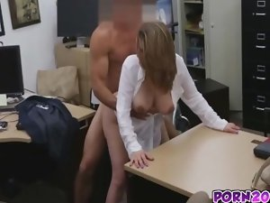 Janice Receives Fucked By Grease schlong In Office