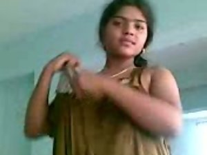 randy indian desi youthful feminine undressed by stud