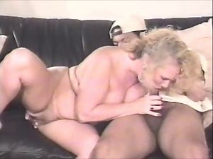Desirable golden-haired Older On Bed 82.SMYT