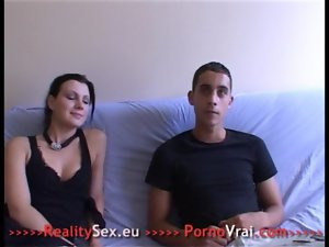 Occasional creampie for french casting!