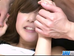 Cherished japanese doll Suzanna hammered brutal and cum instinct with in her m