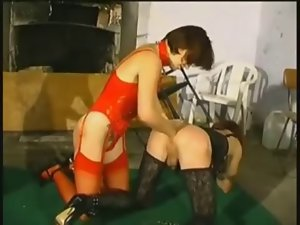 Goddess dong and fist her sissy adolescent